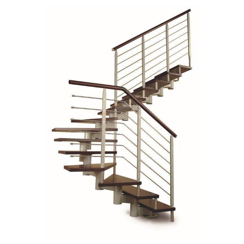 escalier droit modulaire. Black Bedroom Furniture Sets. Home Design Ideas