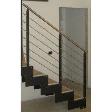 escalier sur mesure pas cher  IMAGINE LASER bois/métal