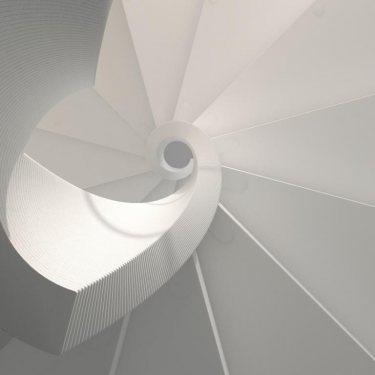 escalier hélicoïdal pas cher  modèle EXCEPTION notre nouveauté