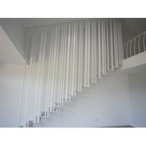 Escalier sur mesure droit, quart tournant, deux quart tournant