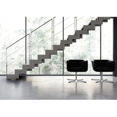 escalier droit bois IMAGINE LASER DROIT