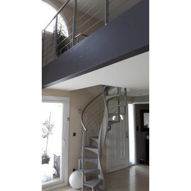 escalier colimaçon métal pas cher métal inox