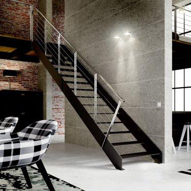 IMAGINE  escalier sur mesure métal