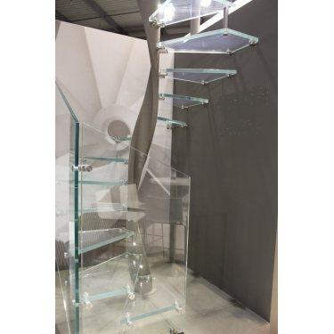 EXCEPTION escalier colimaçon prix verre  pour les marches