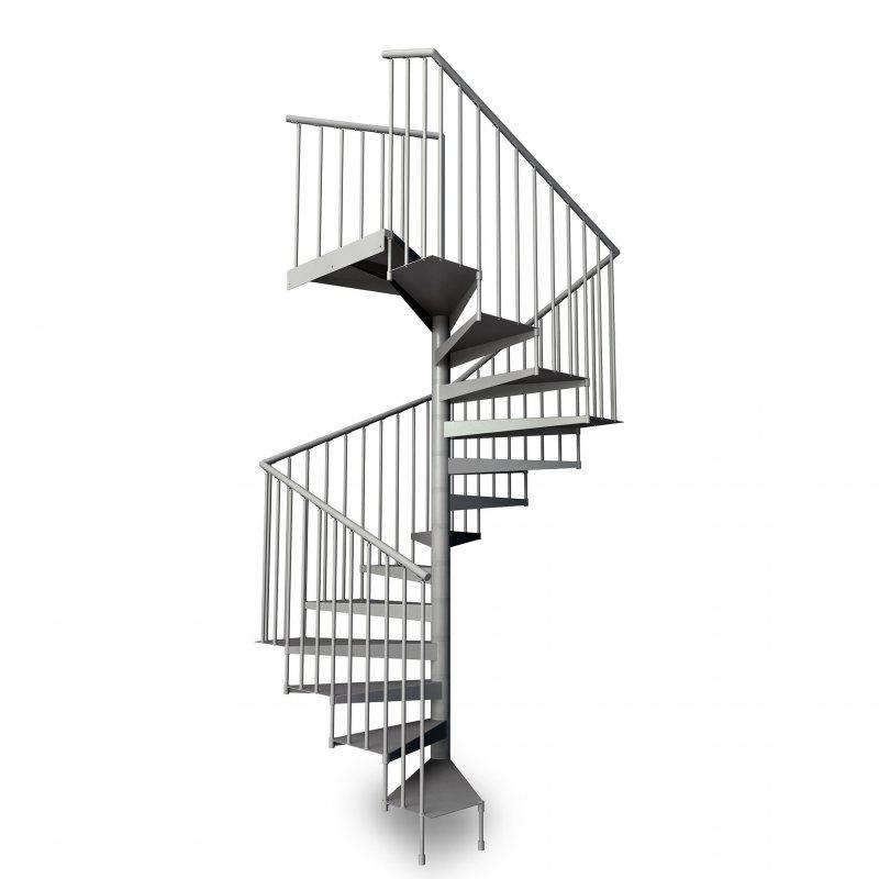 escalier colimaçon prix Métalis carré