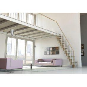 escalier gain de place SUBTILE  DROIT CONTEMPORAIN