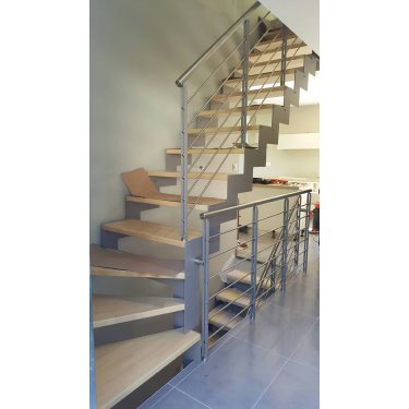 IMAGINE LASER 1/4 tournant escalier...