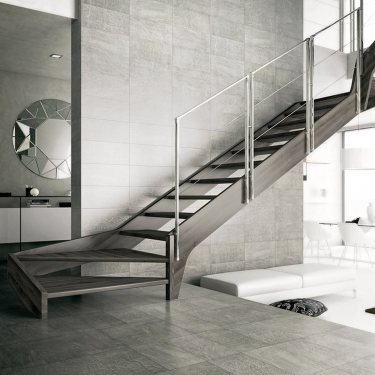 FULMAR escalier 2/4 tournant avec...