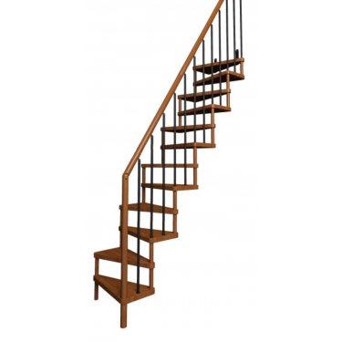 Escalier gain de place droit modèle SUBTILE   TRADITION