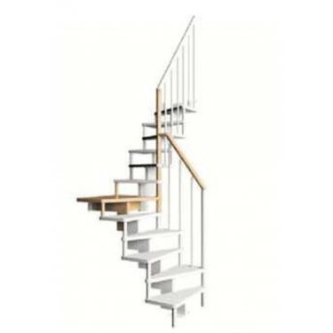 Escalier gain de place SUBTILE 1/4 TOURNANT CONTEMPORAIN