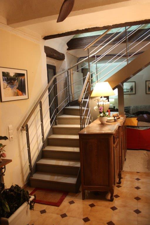 imagine escalier quart tournant