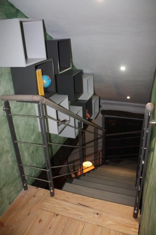 escalier imagine quart tournant
