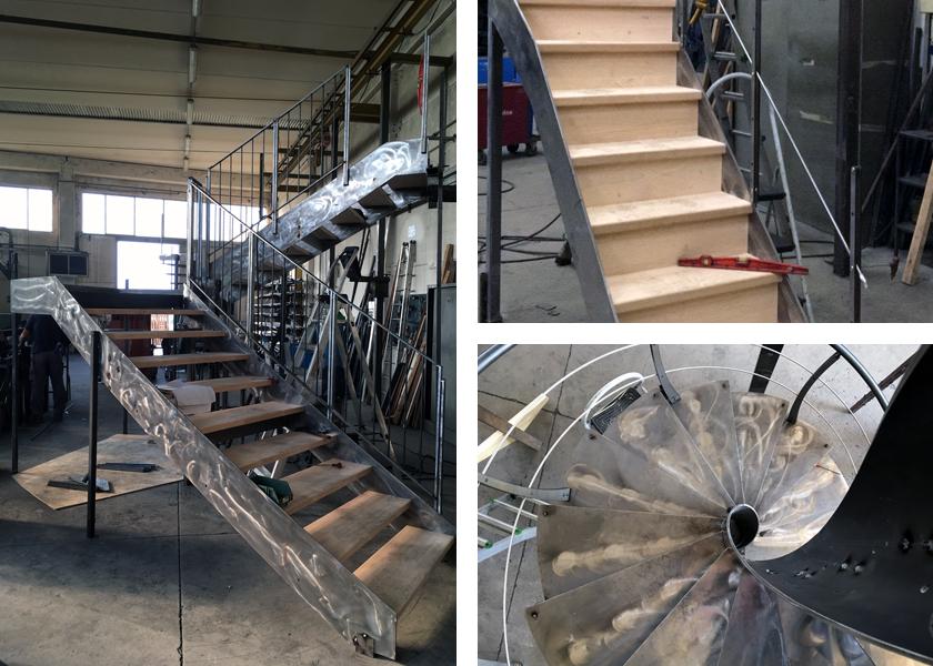 Fabricant escalier sur mesure CNBF