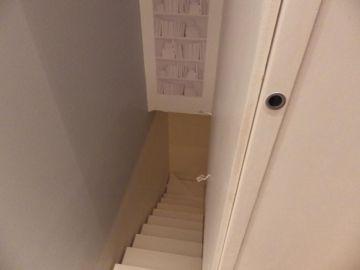 escalier limon métal et marches métal