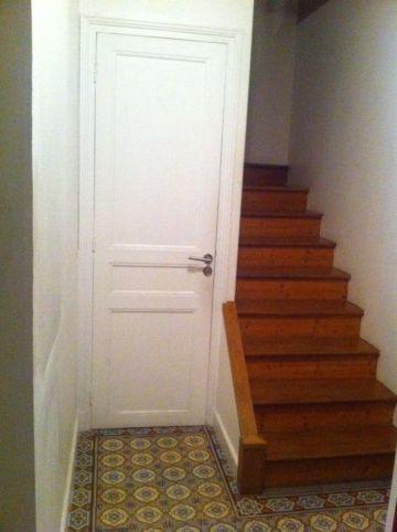 escalier démoli